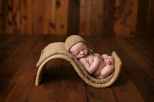 """S"" Shape Bed Creative Newborn Baby Photography Prop Basket D-90"
