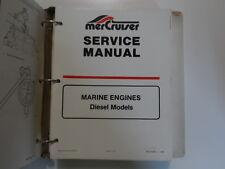 1990 MerCruiser #12 In Line Diesel Service Repair Shop Manual BINDER BOOK 90 OEM