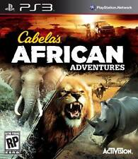 Cabela's African Adventures (Sony Playstation 3) PS3 *NEW*