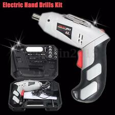 45Pcs 4.8V DC Rechargeable Cordless Electric Screwdriver Power Bit Drill Kit Set