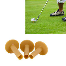 3pcs 60/70/80mm Rubber Driving Range Golf Tees Holder Tee Training Practice Mat