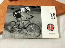 Vintage Schwinn Adult Bicycle Owner's Manual 1992 Mountain Bike