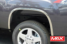 FTGM101 07-13 GMC Sierra 1500 CHROME PLATED Stainless Steel Fender Trim