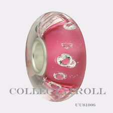 Authentic Trollbeads Universal Diamond Pink Bead Trollbead  UU81006