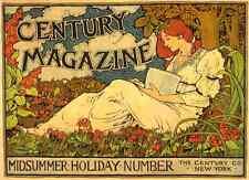 A4 photo rhead Louis 1858 1926 siècle magazine Midsummer vacances nombre 1894 pr