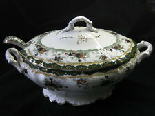 Dunn Bennett & Co. Alexandra. Large Tureen Dish And Ladle. Burslem Enlgand.