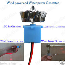 Mini Wind Turbines Generator Hydraulic Generator LED Display Toy Project DIY Kit