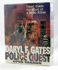 Vintage Sierra Police Quest 4 Open Season PQ4 Big Box IBM PC Sealed MINT RARE!