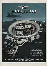 Publicité Advertising 1990  /// montre   BREITLING