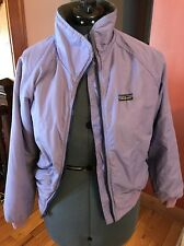 1980'S VINTAGE PATAGONIA BOMBER JACKET Sz. Medium 11/12 Purple