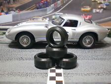 1/32 URETHANE SLOT CAR TIRES 2pr PGT-20093LMXD fit Revell Jaguar E-Type Roaster