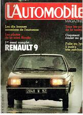 L'automobile magazine:  N°424 octobre 1981