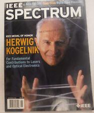IEEE Spectrum Magazine Herwig Kogelnik June 2001 FAL 061815R