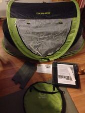 Kidco PeaPod Plus Portable Infant Child Travel Bed Tent KIWI Case RECALL KIT