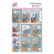 Anita's Foiled Decoupage - In The Potting Shed for cards and crafts