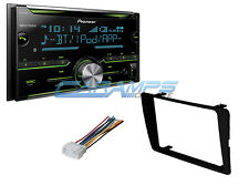 NEW PIONEER CAR STEREO RADIO TUNER W/ INSTALLATION KIT USB/AUX INP & BLUETOOTH