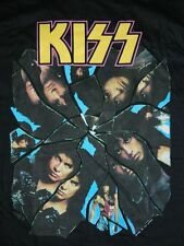 DEADSTOCK KISS CRAZY NIGHTS 1988 TOUR VINTAGE T-SHIRT 80s LARGE GENE SIMMONS