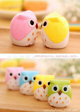 Lovely Cute Owl Pattern Pencil Sharpener School Kid's Gift Office Supplies