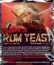 Rum Yeast Coobra Pure Distilling Yeast     spirits home brew   Free P&P UK