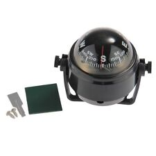 Pivoting Compass Dashboard Dash Mount Marine Boat Truck Car Black ED