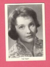 Inge Egger Vintage 1950s Movie Film Gum Card from Germany