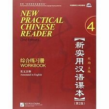 New Practical Chinese Reader: Workbook Volume 4, Liu, Xun, Very Good, Paperback