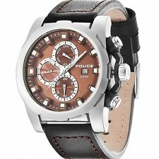 New! Police Men's Speedster Multi Function Watch 13928JS/12 RRP £170