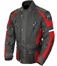 Joe Rocket Ballistic Revolution Touring Motorcycle Jacket XL Black / Red
