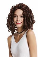 Wig Ladies Baroque Rococo victorian Gothic Lolita Corkscrew curls brown