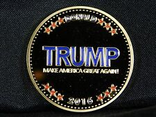 "Trump 2016 Challenge Coin - ""Make America Great Again"" (Gold Plated)"