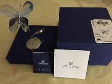 SWAROVSKI RETIRED PARADISE AMALIA LAVENDER BUTTERFLY IN BOX