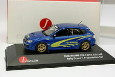 J Collection 1/43 - Subaru Impreza WRX STI 2008 Rally Gr N Presentation