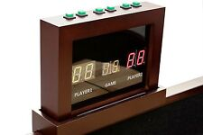 2 PLAYER UNIVERSAL ELECTRONIC SCORING UNIT~SCORE BOARD~ SHUFFLE TABLE ~ ESPRESSO