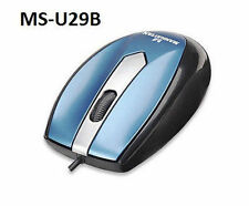 Usb 3-Button w/ Scroll Wheel 1000 dpi Mo1 Optical Mini Mouse - Manhattan 177955