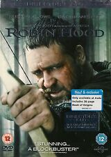 ROBIN HOOD  DVD  DIRECTORS CUT  16 extra minutes  WITH 36 PAGE BOOK OF ORIGINS