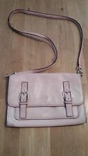 KATE SPADE Allen Street Neil X-Body Leather Bag Cipria Pink w/ defects