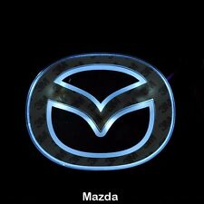 LED Car Tail Logo White  light Auto Badge Light for Mazda 2 Mazda 3