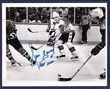 Denis Savard signed Chicago Blackhawks All-Star game photo from Sporting News