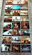 MEGAFORCE * Michael Beck - 24 AUSHANGFOTOS   SATZ - German LC-SET ´82 SCI-FI