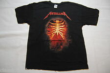 METALLICA THRASHED THRU T SHIRT XL NEW OFFICIAL BATTERY DAMAGE INC HETFIELD RARE