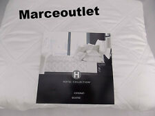 Hotel Collection Radiant FULL / QUEEN Quilted Coverlet White