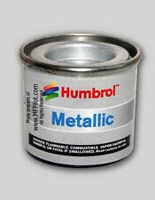 METALLIC SILVER HUMBROL Enamel Model Paint - 14ml Tin #11