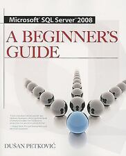 Microsoft SQL Server 2008 by Dusan Petkovic (2008, Paperback, Study Guide)