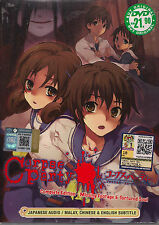 CORPSE PARTY COMPLETE EDITION: MISSING FOOTAGE & TORTURED SOUL ANIME DVD ENG SUB