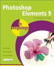 Photoshop Elements 9 in easy steps: For Mac and PC, , Good Condition, Book