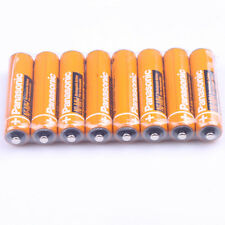 8PCS New Panaosnic  Rechargeable AAA battery 550mAh HHR-55AAABU