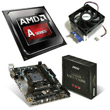 AMD A4 6300 Dual Core 3.90GHz MSI A68HM Grenade Motherboard Bundle
