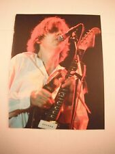 Thurston Moore Sonic Youth Guitarist 12x9 Coffee Table Book Photo Page