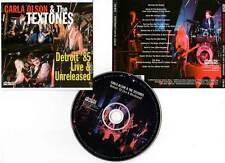 "CARLA OLSON AND THE TEXTONES ""Detroit 85 Live & Unreleased"" (CD) 2008"