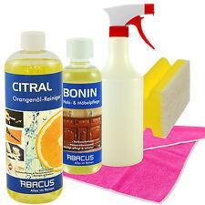 CITRAL Orangenölreiniger 1000ml + 300 ml BONIN Möbelreingungs&-pflege Set